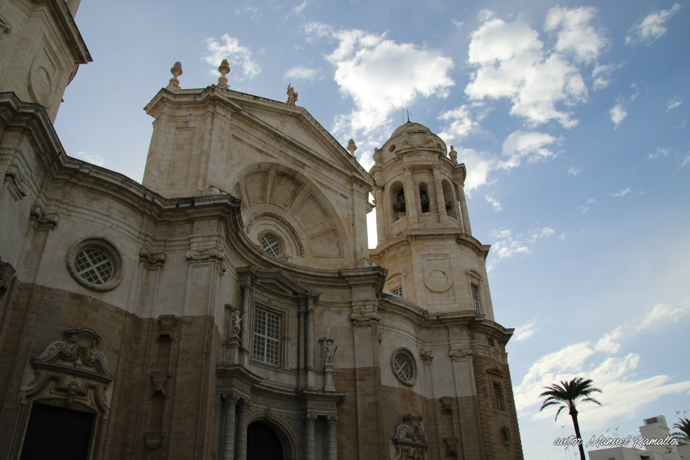 Catedral de Cádiz fachada principal
