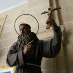 Catedral de Jerez escultura del beato fray Diego José de Cádiz autor Manuel Ramallo