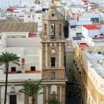 Desde la torre campanario de la catedral de Cádiz podemos ver esto