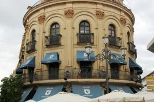 El Gallo Azul Jerez de la Frontera Cádiz Autor Manuel Ramallo