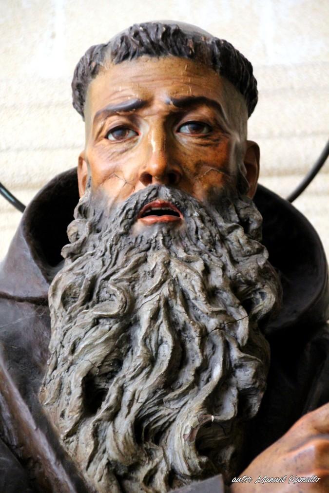 Escultura beato fray Diego José de Cádiz catedral de Jerez de la Frontera autor Manuel Ramallo