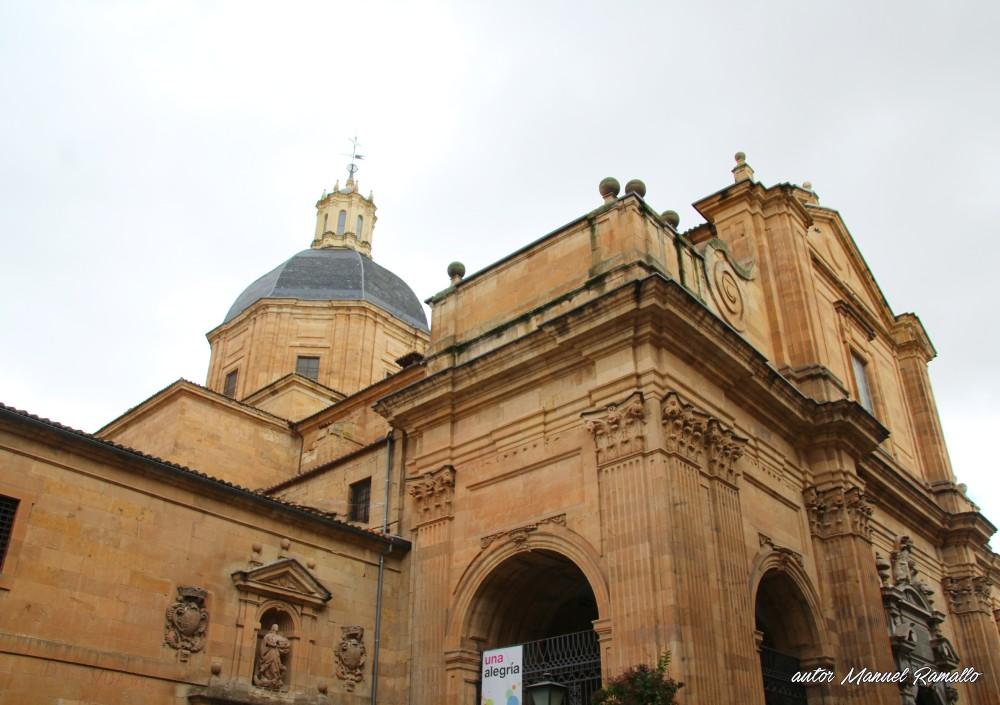 Iglesia de la Purísima fachada y cúpula Salamanca autor Manuel Ramallo