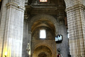 Interior de La Catedral de Jerez de la Frontera Cádiz autor Manuel Ramallo