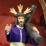 Jesús con la cruz a cuestas iglesia Santa Cruz Cádiz catedral vieja