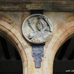 Medallón de la Segunda República plaza Mayor de Salamanca