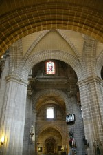 Nave de la Catedral de Jerez de la Frontera Cádiz autor Manuel Ramallo