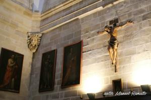 Pinturas y esculturas catedral de Jerez en Cádiz autor Manuel Ramallo