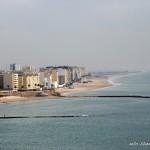 Playas de Cádiz desde la torre de la catedral