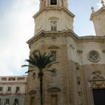 Torre campanario catedral Cádiz Andalucía