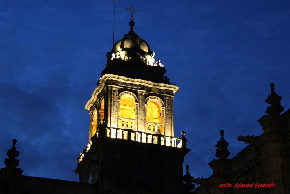 Torre campanario monasterio de San Salvador Celanova autor Manuel Ramallo