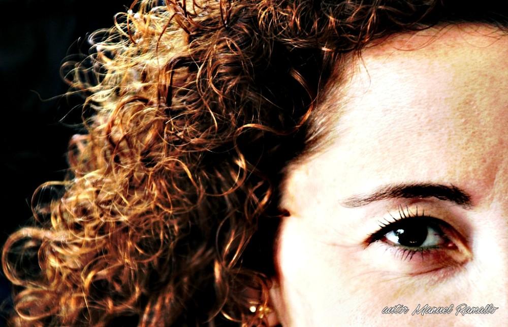 Ángela pelo rojo - Retrato