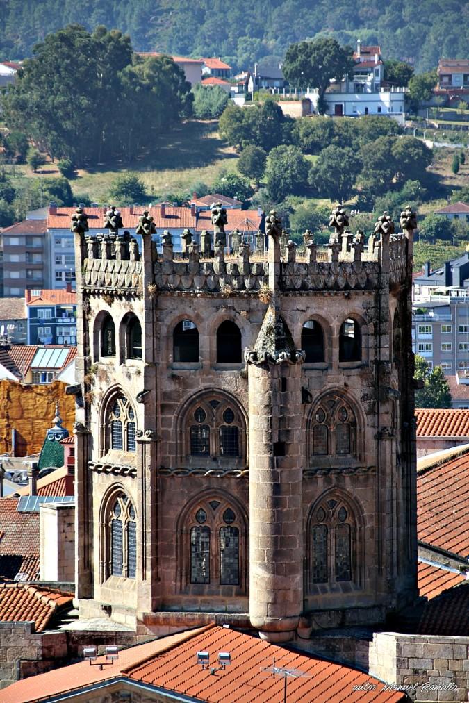 Catedral de Ourense cimborrio Orense Galicia