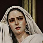 Faz de la Verónica escultura imagen iglesia parroquia de Santa Cruz antigua catedral de Cádiz