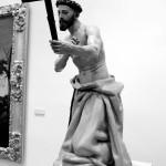 Escultura imagen de Santo Domingo de Guzmán obra de Juan Martínez Montañés Museo de Bellas Artes Sevilla