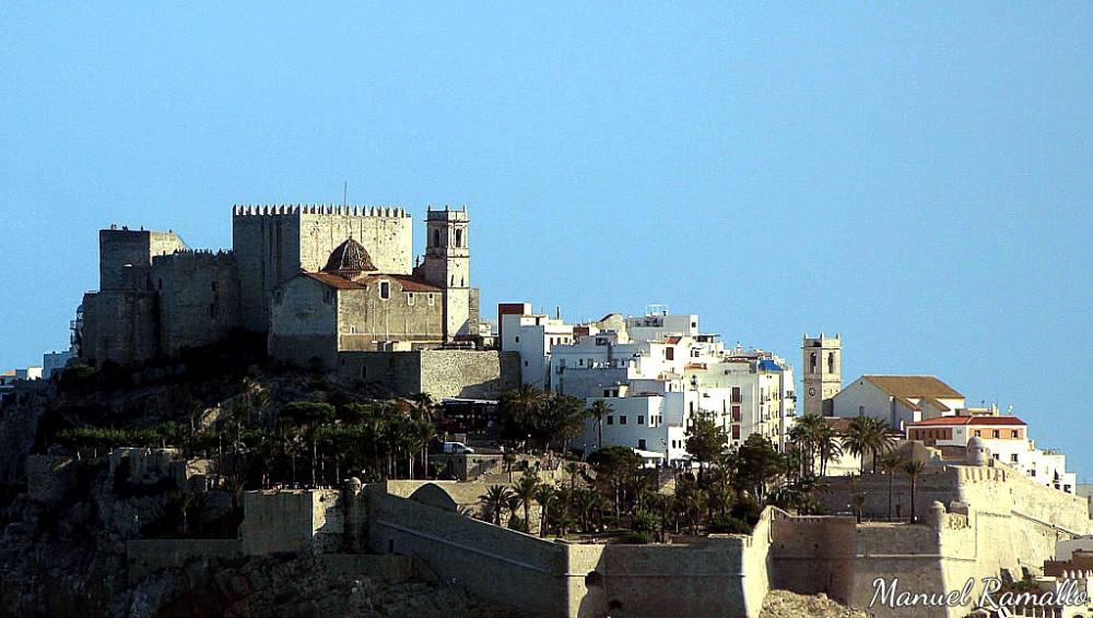 Peñíscola castillo fortaleza verano playa