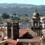 Cimborrio y torre del campanario de la catedral de Ourense