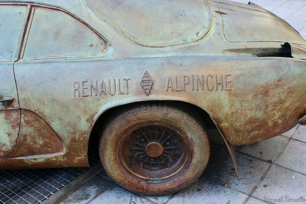 Renault Alpinche Colemán Reverter Rallye de Ourense homenaje Parque San Lázaro