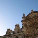 Vista parcial de Fachada Iglesia Mayor Prioral de Puerto de Santa María Cádiz