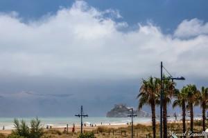 tormenta-en-peniscola-fortaleza-castillo-papa-luna