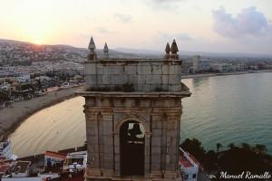 torre-campanario-iglesia-fortaleza-papa-luna-peniscola