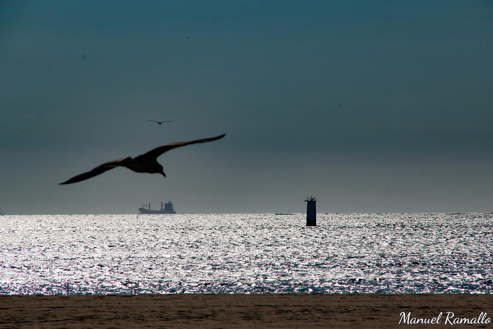 atardecer-en-el-mar-playa-america-nigran-pontevedra