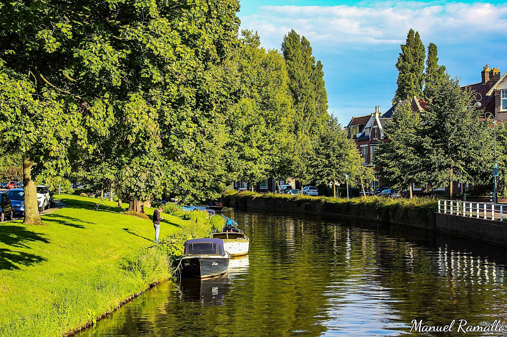 canal-haarlem-holanda-paises-bajos