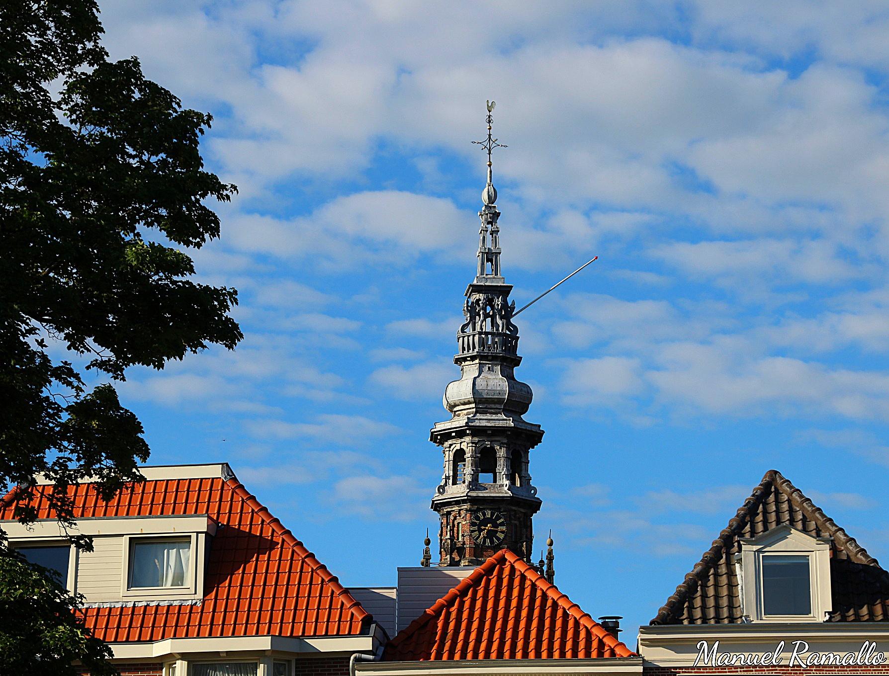 torre-reloj-haarlem-holanda-paises-bajos