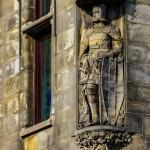 caballero-medieval-fachada-utrecht-holanda-paises-bajos