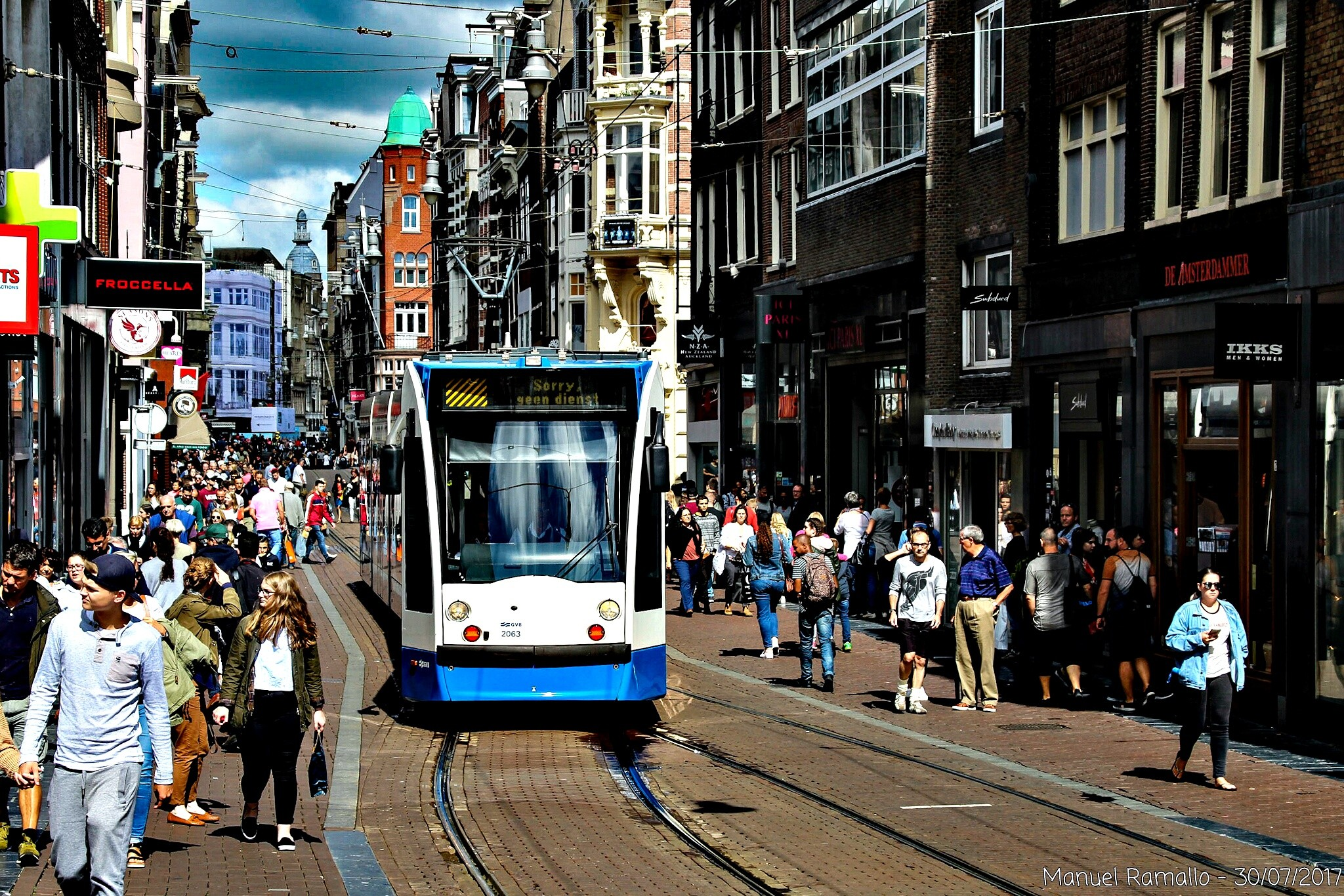 amsterdam-tranvia-ciudad-calle-holanda