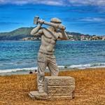 escultura-piedra-granito-playa-america-pontevedra-verano-2017
