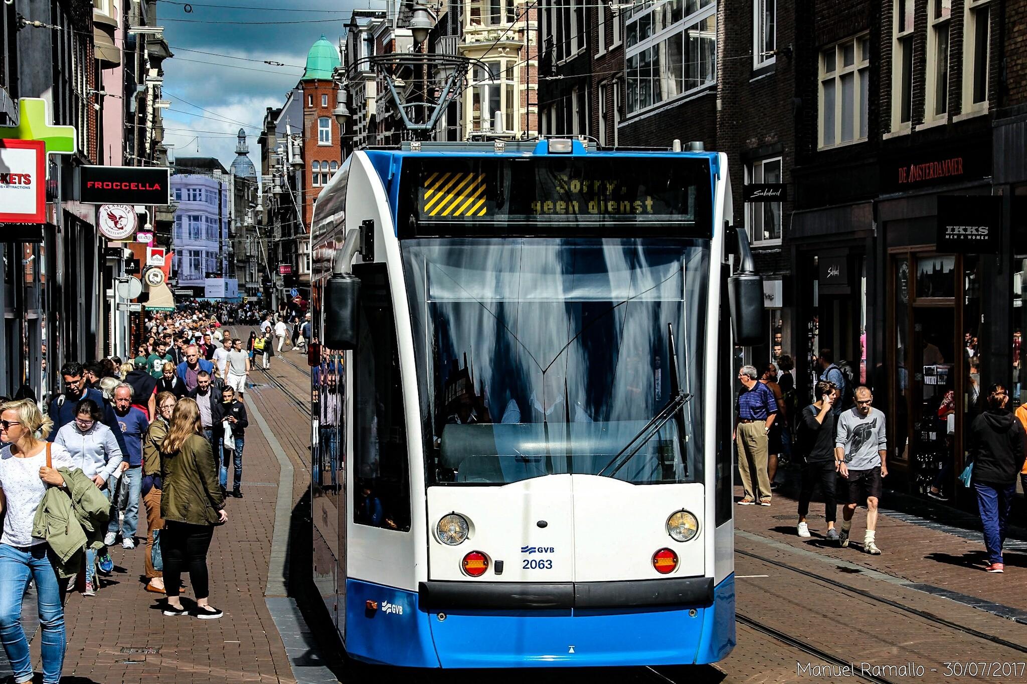 tranvia-calle-amsterdam-holanda