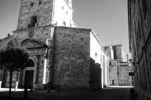 catedral-de-ciudad-rodrigo-salamanca-blanco-y-negro