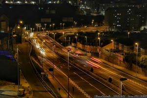 avenida-as-xubias-coruna-noche-luces-coche