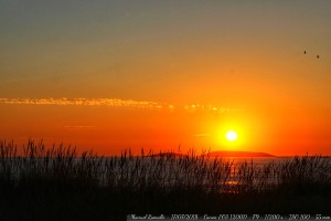 puesta-sol-atardecer-solpor-playa-america