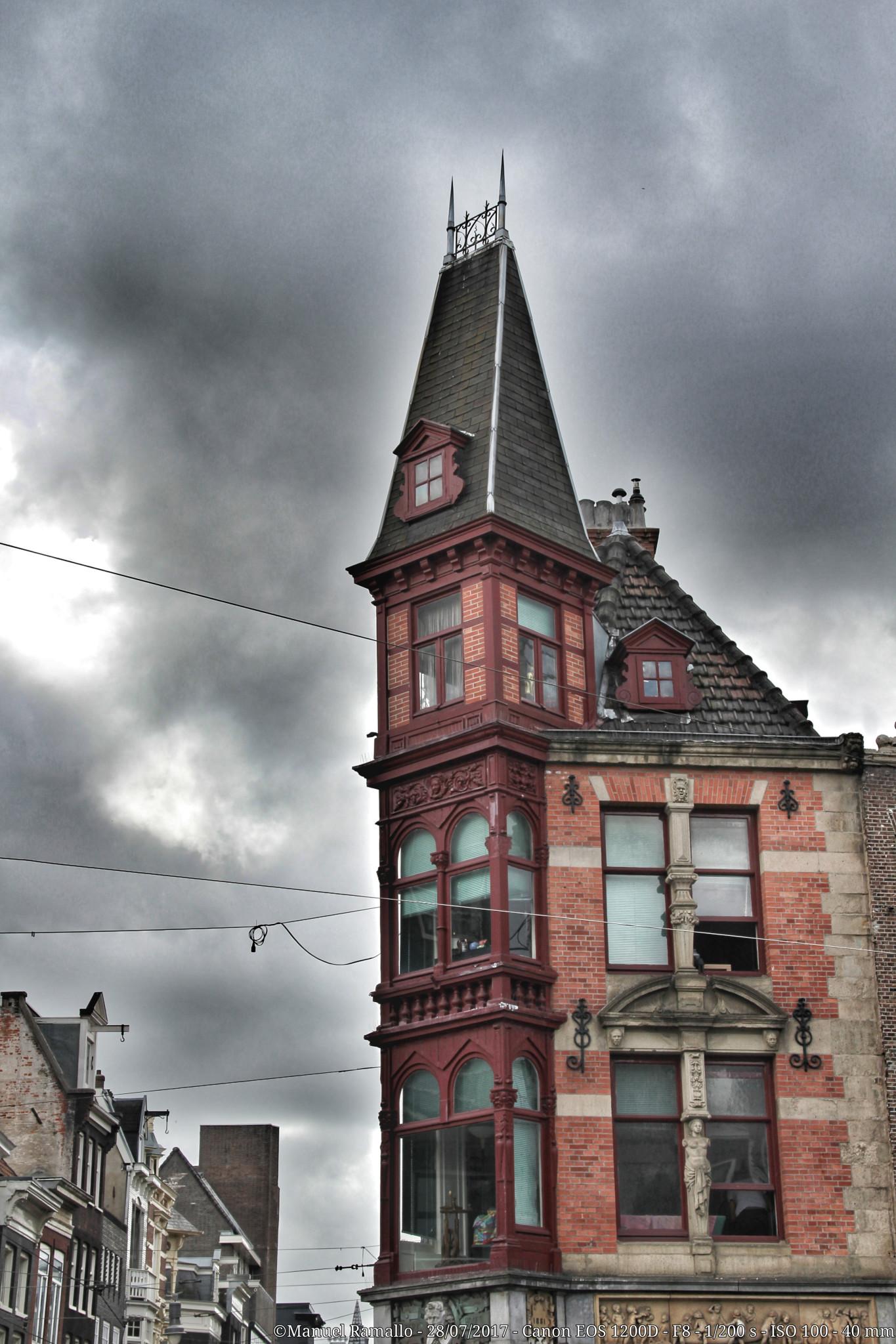 Casa edificio Ámsterdam Holanda