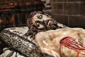 Cristo yacente catedral de Segovia