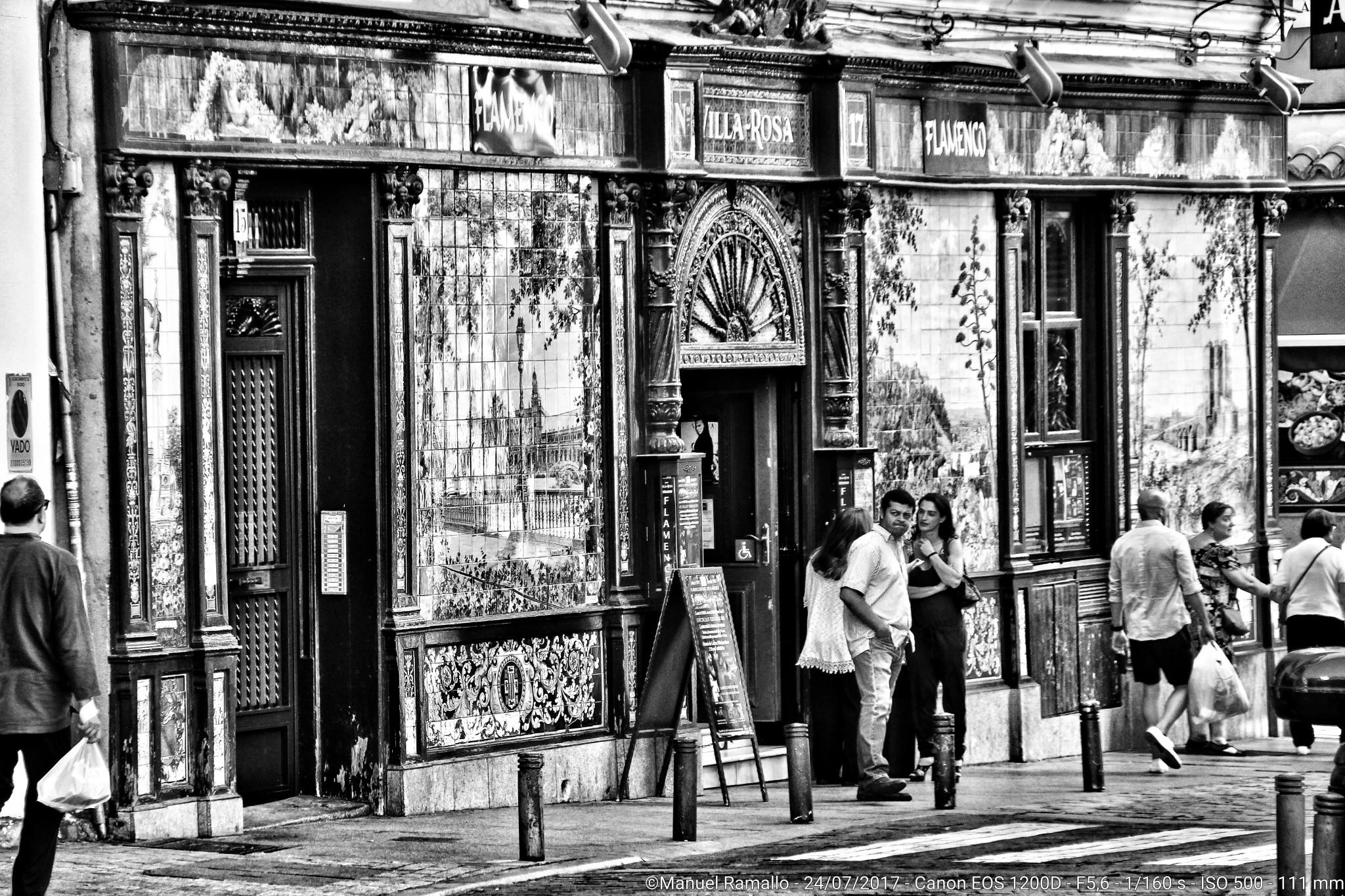 Flamenco - Villa Rosa -Plaza Santa Ana - Madrid
