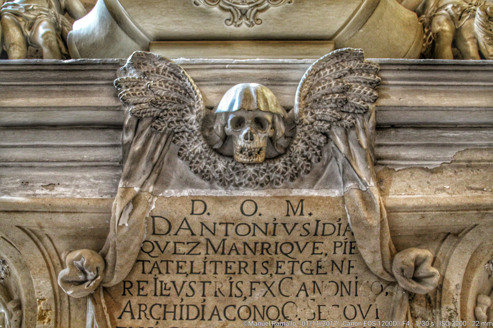 Epitafio Catedral de Segovia España