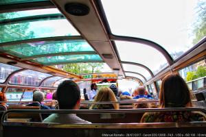 On the boat – Paseo por el canal – Ámsterdam
