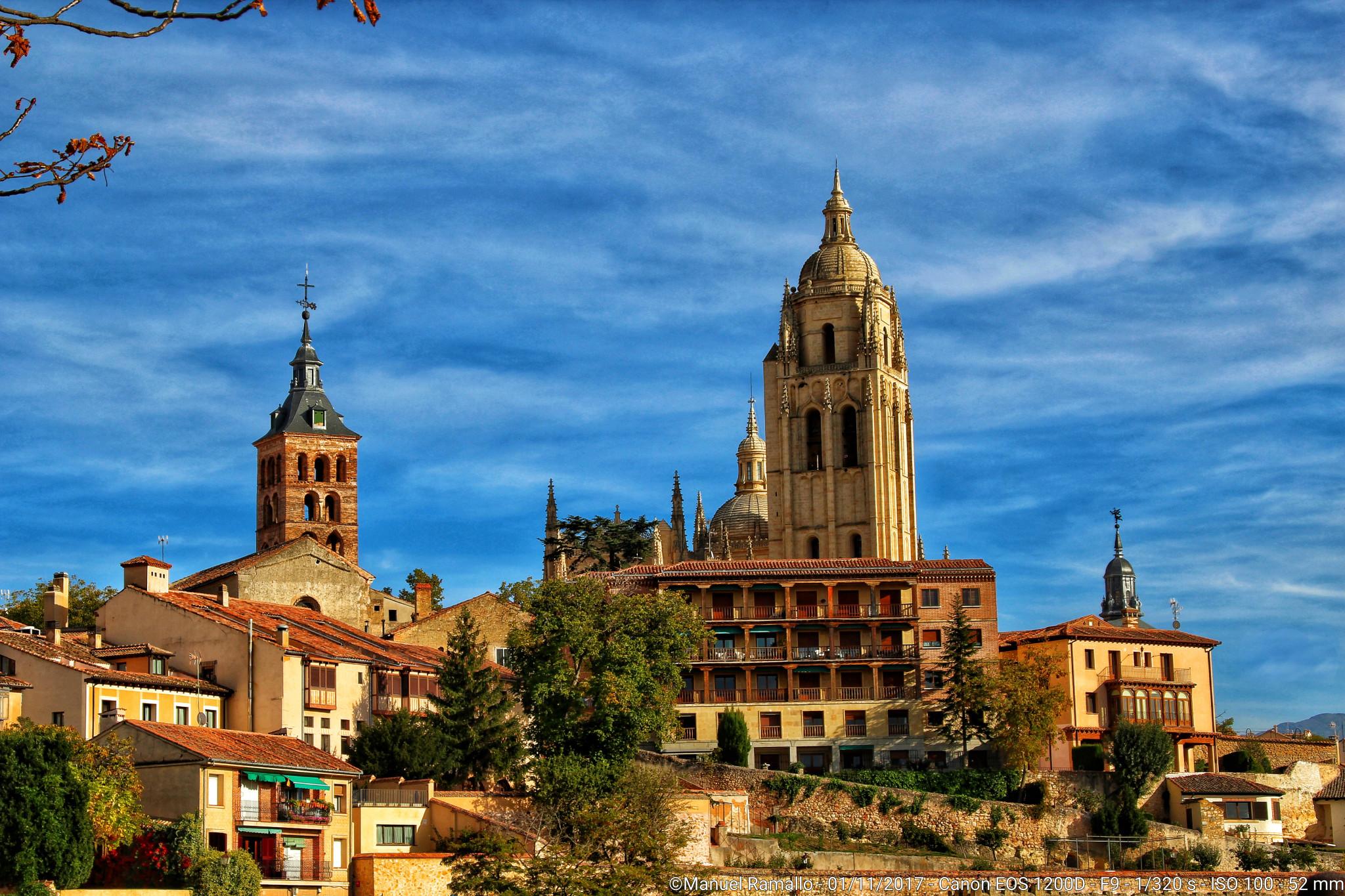 Segovia y su catedral - Vista panorámica