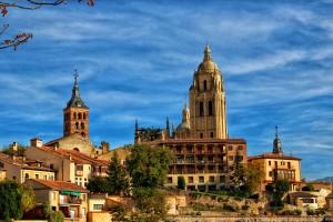 Segovia y su catedral – Vista panorámica