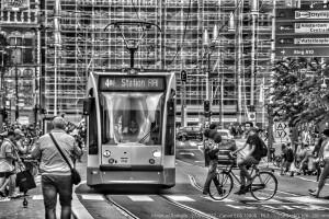 Calle cerca de Ámsterdam Centraal