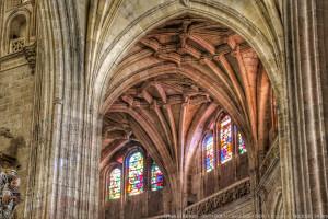 Colores en la catedral de Segovia