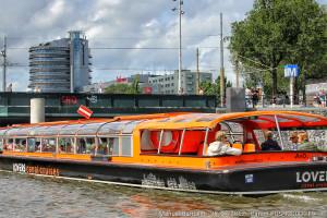 Lovers boat en Ámsterdam