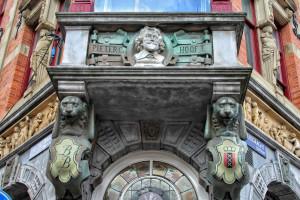 Pieter Cz Hoof T fachada Ámsterdam