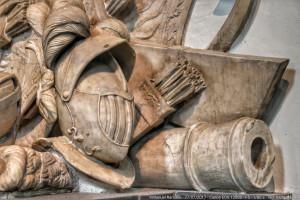 Tumba en catedral de Ámsterdam – Vista parcial