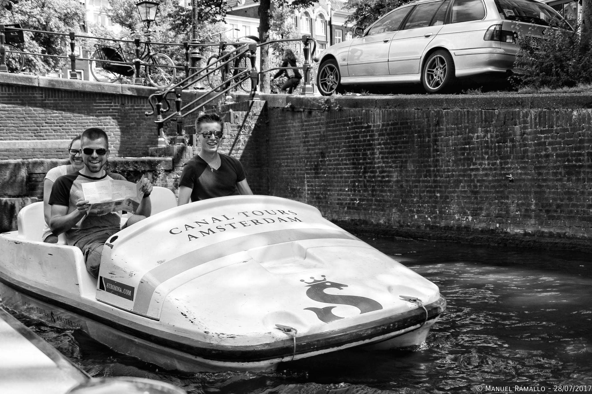 Boat bike car Ámsterdam